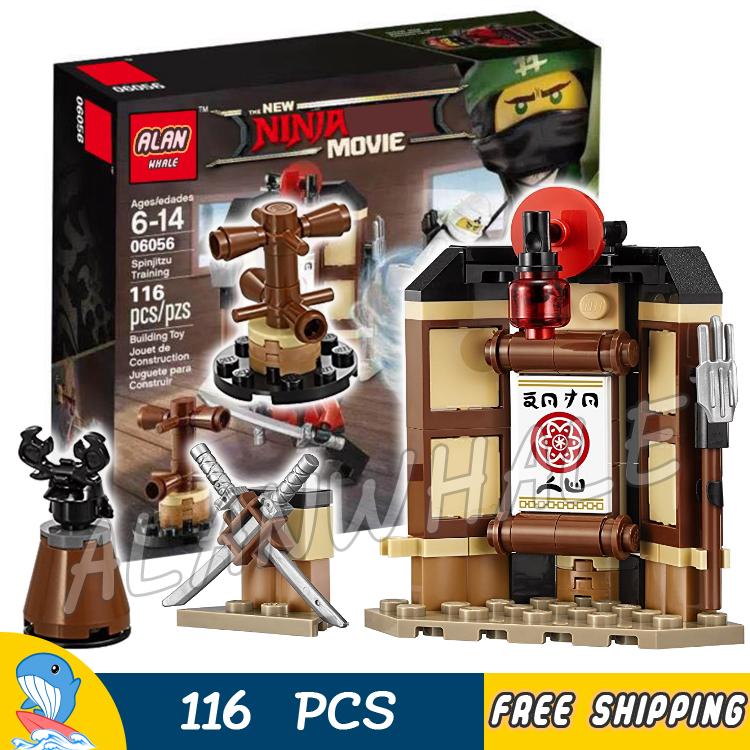 Blocks Building Blocks 06056 Compatible With Legoingly Ninjago 70606 Bricks Spinjitzu Training Figures Educational Toys For Children