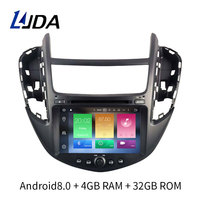 LJDA 1 Din Android 8.0 Car Radio Multimedia for Chevrolet TRAX 2013 GPS Navigation Multimedia 4G+32G Octa Cores WIFI Headunit SD