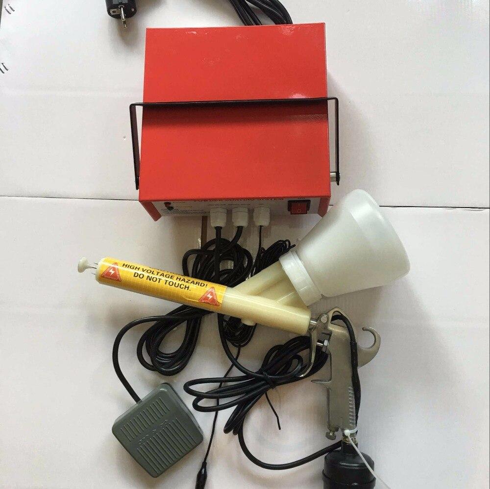 New Portable Powder Coating System Paint Gun Coat