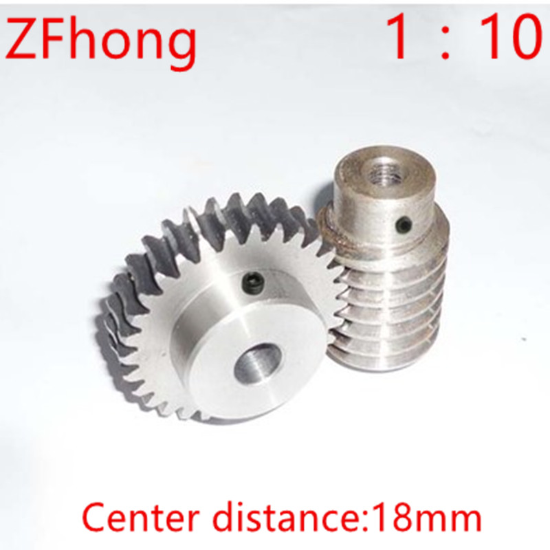 1M-20Teeths ratio:1:10 Electric Motors steel Worm Gear Rod Set worm gear hole 8mm, rod hole 8mm 1m 40teeth 1 4 precision copper worm gear rod screw machine parts gear hole 8mm rod hole 6mm