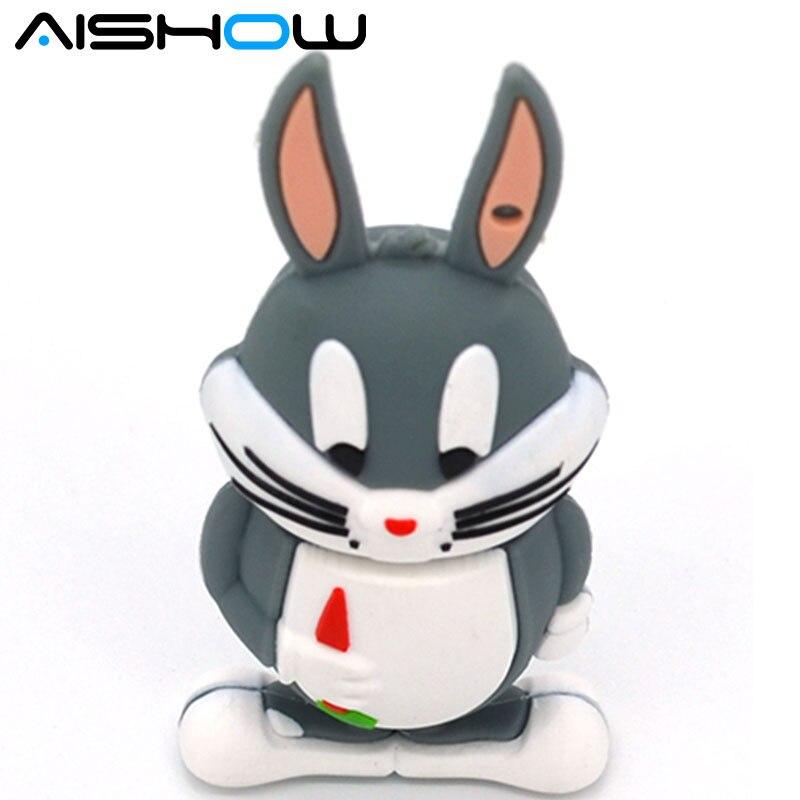 Bugs Bunny USB Flash Drive Daffy Duck Pen Drive 4gb 8gb 16gb 32gb Tweety USB Stick Devil Pendrive External Storage 2016 new
