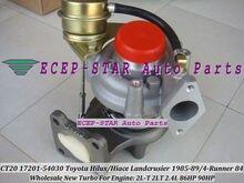 Free Ship CT20 17201-54030 17201 54030 1720154030 Turbo For TOYOTA LANDCRUISER LJ70 1985-89 4-Runner 1984- 2L-T 2LT 2L T 2.4L