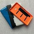 Substituição de volta caso capa para o nokia microsoft lumia 640 shell tampa traseira da bateria habitação porta da bateria com botão lateral
