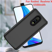 6500mAh Ultra-Thin Portable Mobile Power Charging Case for Xiaomi Realme X Battery Box Charger Case