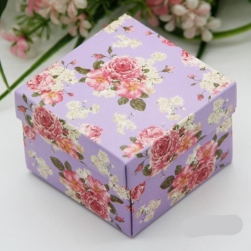 Gift Box Wedding Invitations: Aliexpress.com : Buy 40pcs/lot Full Flower Candy Box For