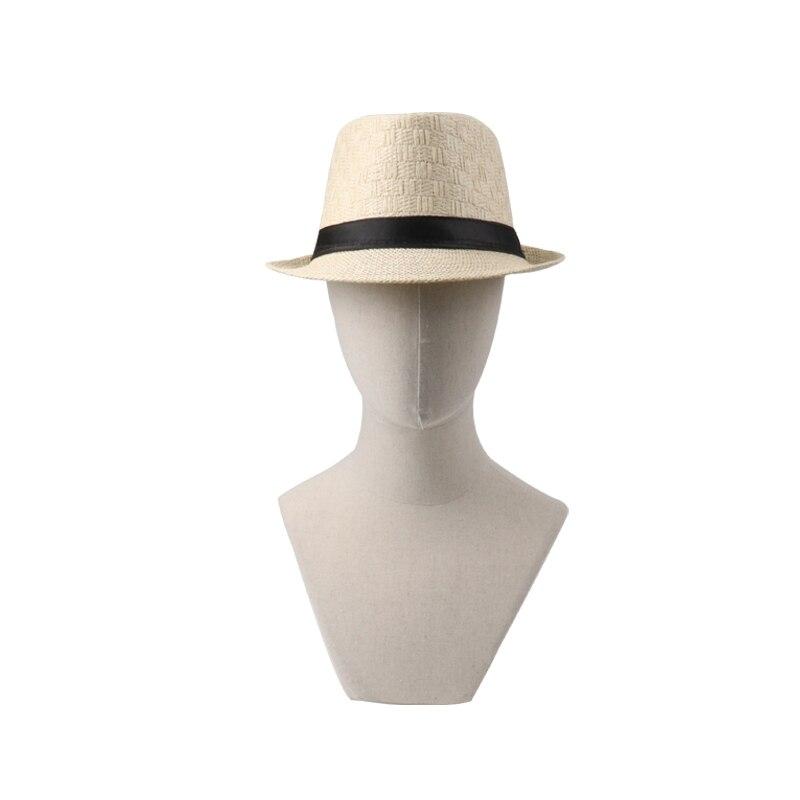 18 Summer Cowboy Hat Straw Hat Cappello Leisure Beach Visor Women Hat Hoeden Voor Mannen chapeau de paille femme Hats Caps Men 11