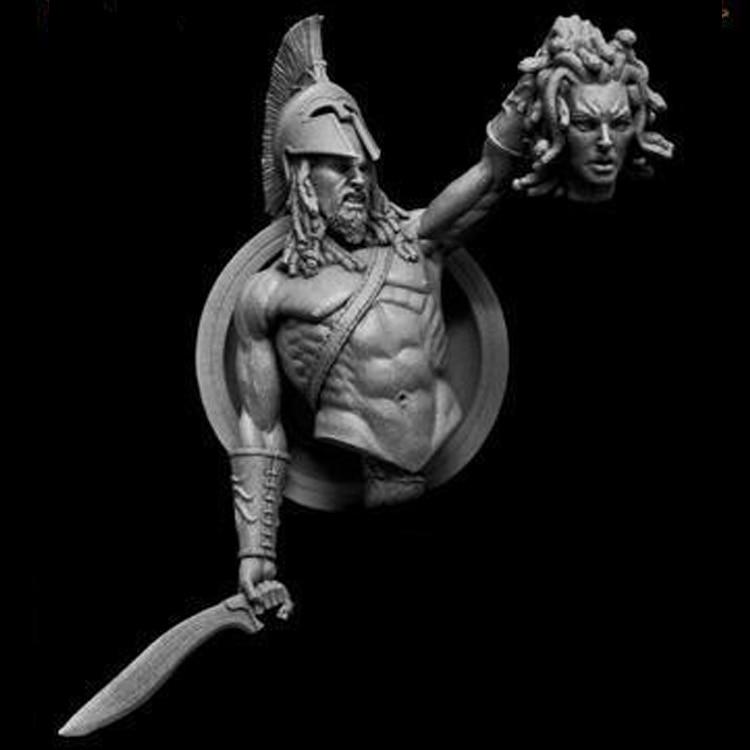 1/10 Resin Bust Ancient Mythological Role Zeus Son Unassemble Unpainted X212G