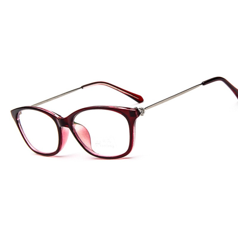 Famous Designer Brands Men Women Eyeglasses Frames diamond Spectale ...