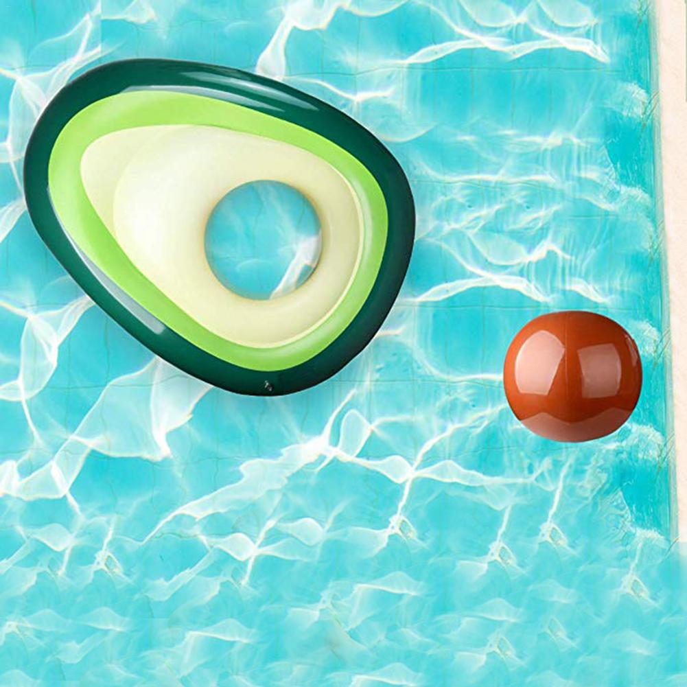 160x125 Cm Avocado Swimming Ring Inflatable Swimming Giant Pool Pool Floats For Adults For Tube Float Swimming Pool Toy 2019 New