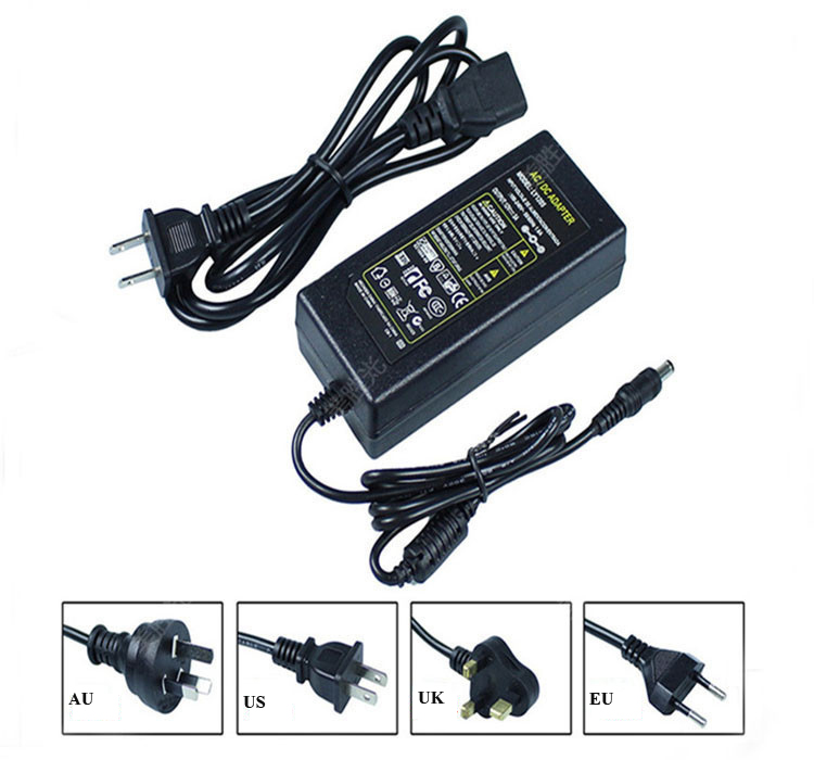 12V 10A power adapter switching power supply Desktop two wire power adapter for LED light monitoring 2Pcs lot in AC DC Adapters from Consumer Electronics