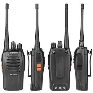 Image 5 - 100% Baofeng BF 666s Walkie Talkie 16CH Practical Two Way Radio UHF 400 470MHZ Portable Ham Radio 5W Flashlight Programmable