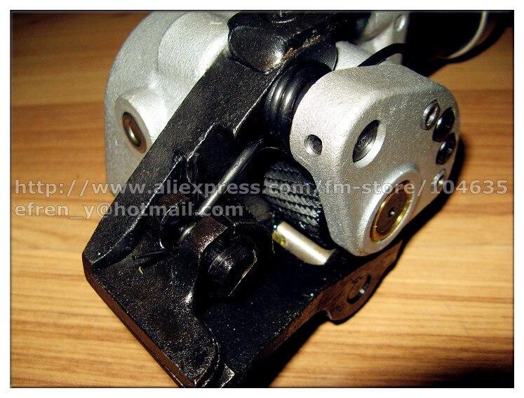 Сверхмощный Пневматический Разделение стали группа связывая инструмент, упаковочная машина для обвязки пневматический уплотнитель для