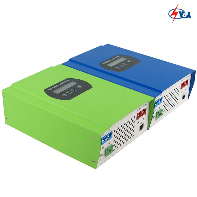 SMART1 30A 50A 60A DC 12/24/48V AUTO 96V high quality smart MPPT solar controller with RS232 high quality smart2 48v 50a mppt solar charge controller with rs232 lan dc load ctrl 50a 48v pv regulator