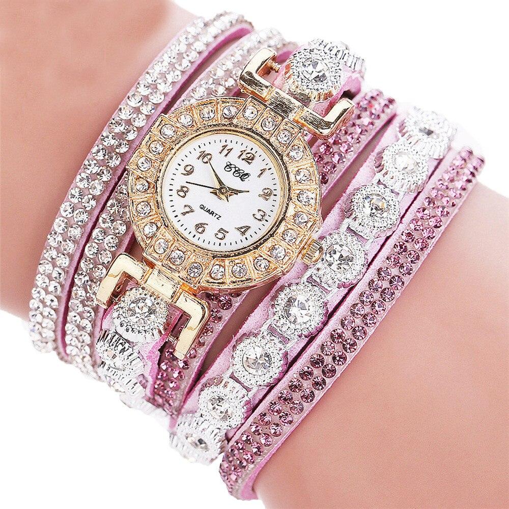 HTB1g0WNiOMnBKNjSZFzq6A qVXaO - Women's Luxury Fashion Analog Quartz Rhinestone Bracelet Watch