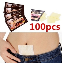 100pcs Sleep Lose Weight Slimming Patch Weight Loss Fat Navel Stick Burning Fat Magnets