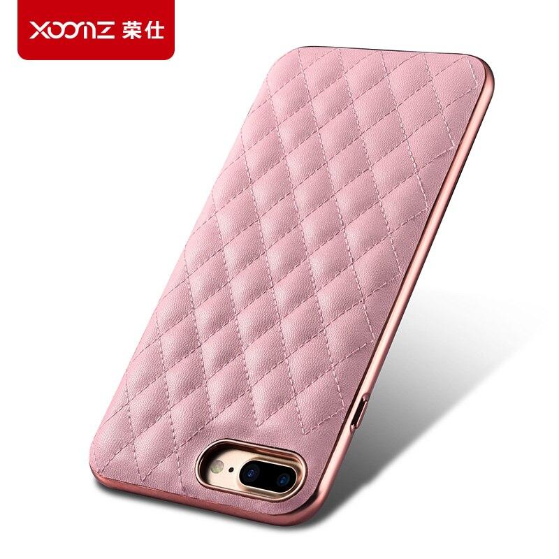 imágenes para 5 colores para iphone7 plus xoomz icarer cubierta del teléfono original marca de moda back case para iphone 7 señora girl friend regalo
