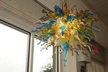 цена на Free Shipping 120v/240v Bar Coffee House Lamp Hand Blown Glass Chandelier