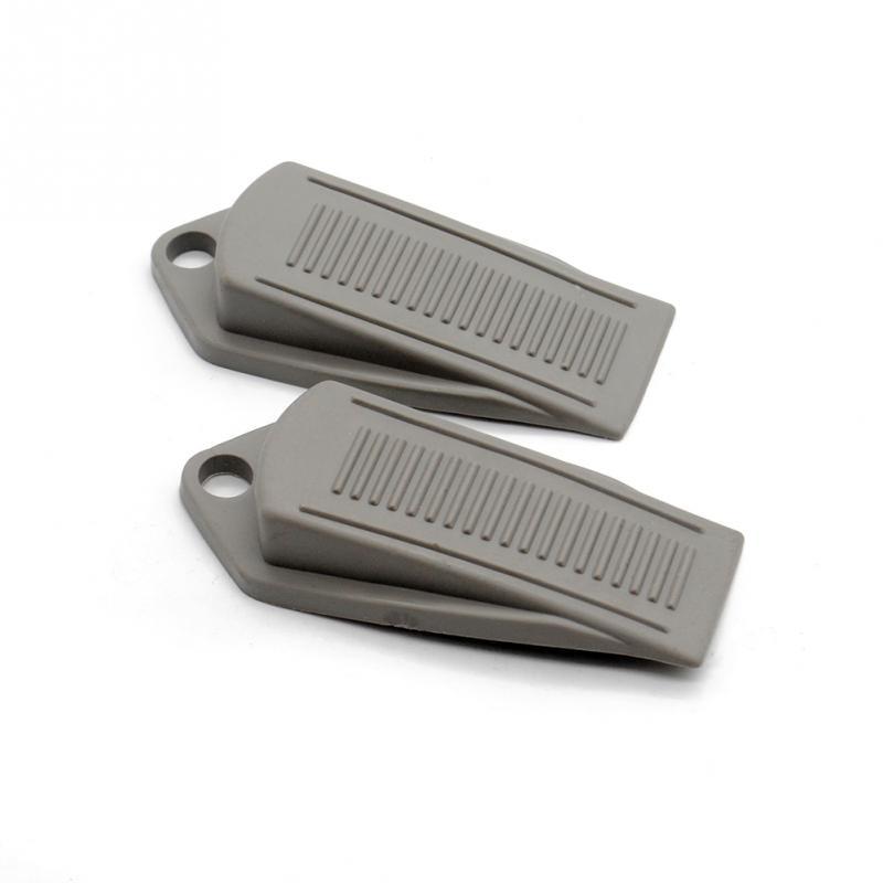 new 2pcs door wedge shaped rubber door stopper doorstops door stop heavy duty rubber door stopper