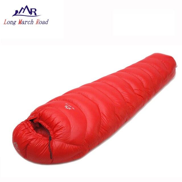 super popular 83dde 32306 US $69.6 42% OFF|LMR daunenschlafsack erwachsene schlafsack camping zubehör  mamabeutel schlaf legt wasserdicht atmungsaktiv ultraleicht 800g 1000g in  ...