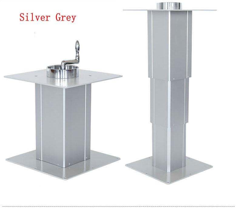 42 100CM 420 Manual Type Aluminum Hand Lifter Tatami Lift Table Home Lift Table Hidden Desktop