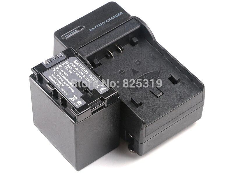 Cargador de batería para BN-VG121 JVC GZ-HM280 GZ-HM300 GZ-HM301 GZ-HM320 GZ-HM330