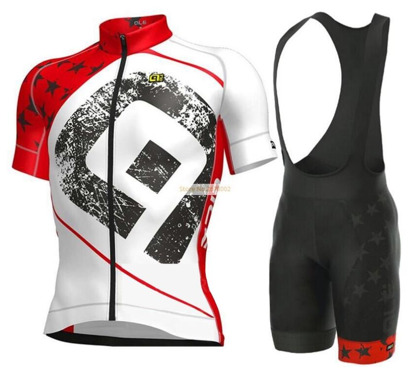 NEW Team Ale Cycling Jersey Shorts Sets MTB Bike Bicycle Breathable shorts Clothing Ropa Ciclismo Bicicleta Maillot Suit polyester summer breathable cycling jerseys pro team italia short sleeve bike clothing mtb ropa ciclismo bicycle maillot gel pad