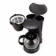 220V Drip Coffee Maker 800W, Household Cafe Fully-automatic Work Indicator, Capacity 10 Cups(China)
