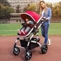 Alta Calidad 40 cm Widen Cochecito de Bebé Puede Sentarse Suave mentir A Prueba de Golpes de Coche de Bebé Portátil Plegable Cochecitos de Bebé para Recién Nacidos C01