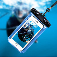 Waterproof Pouch For Samsung Galaxy S4 Active i9295 Water Proof Diving Bags Outdoor Phone Case Underwater Phone Bag Neck Strap