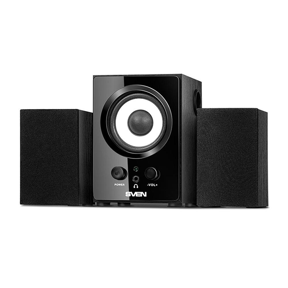 Consumer Electronics Portable Audio & Video Speakers SVEN SV-013080BK speakers bluedio ts3 golden consumer electronics portablea video and audio
