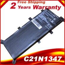 HSW 7,5 V 37WH C21N1347 аккумулятор для ноутбука ASUS X554L X555 X555L X555LA X555LD X555LN X555MA 2ICP4/63/134 C21N1347