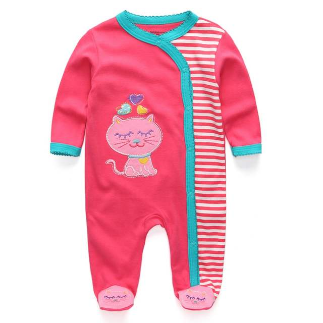 0eea4a800 Online Shop New Arrival Baby clothes baby boy girls footed romper ...
