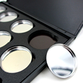 High-quality 26mm Empty Magnetic Eyeshadow Concealer Aluminum Pans With Palette Makeup Tools Cosmetics DIY Box  12 PCS