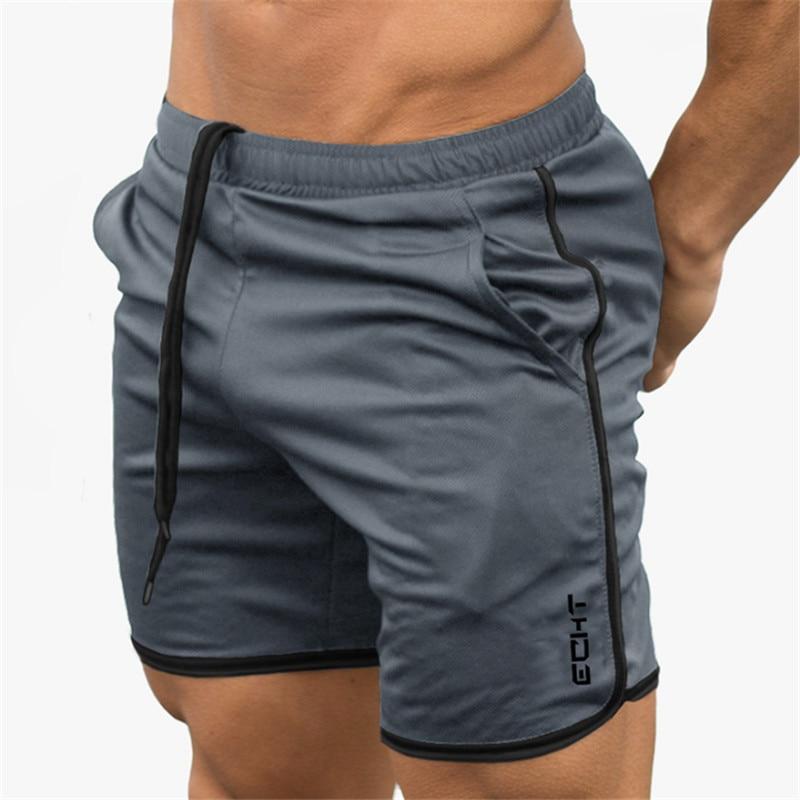 2019 Summer Running Shorts Men Sports Jogging Fitness Shorts  Quick Dry Mens Gym Men Shorts Crossfit Sport gyms Short Pants men 2