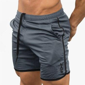 2019 Summer Running Shorts Men Sports Jogging Fitness Shorts  Quick Dry Mens Gym Men Shorts Crossfit Sport gyms Short Pants men 7