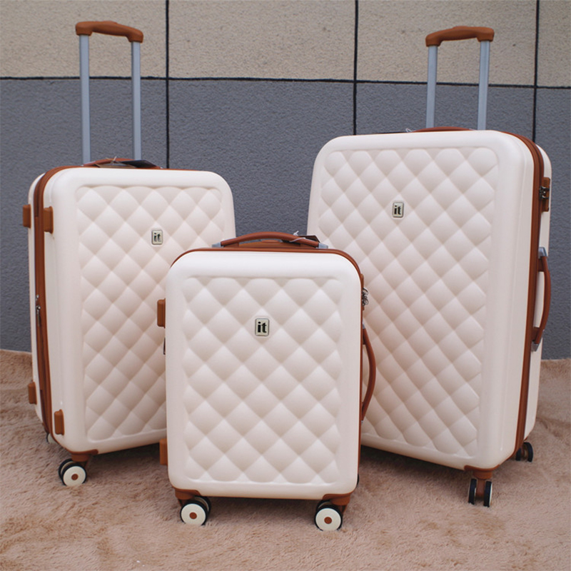 Fashion brand luggage scratch resistant 20 25 29 inch extended trolley case password ultra light fairy