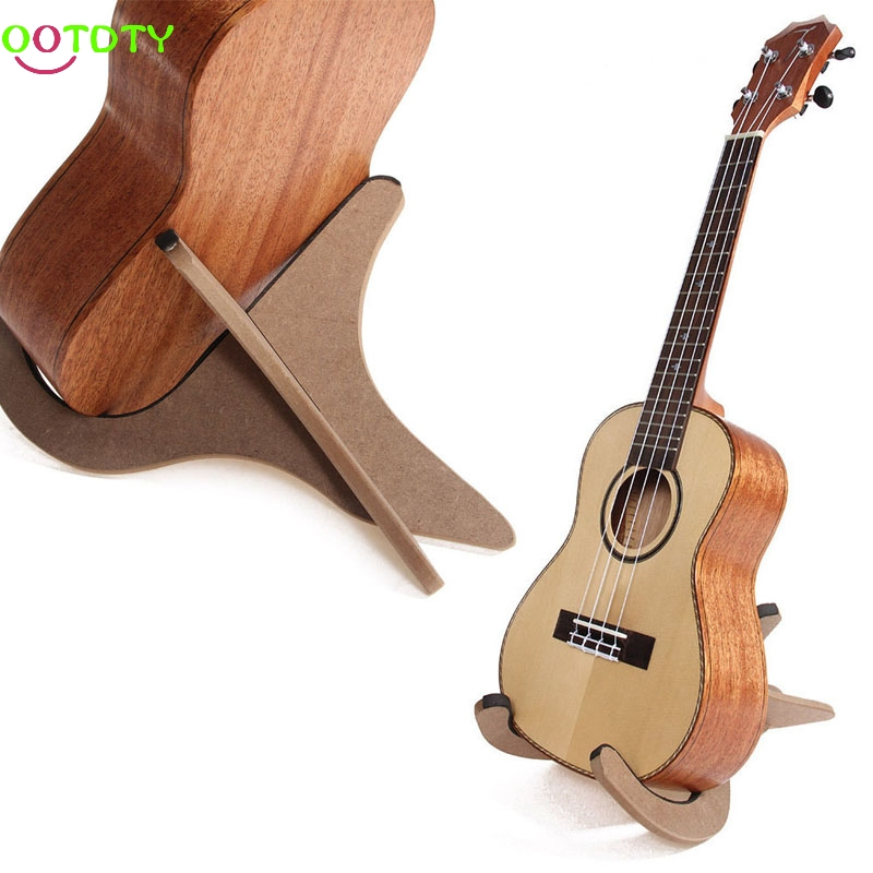 Guitar Part Accessories Wooden Foldable Convenience Stand Suitable for Ukulele Mandolin Violin Banjo cooperstand pro g collapsible guitar bass banjo and mandolin stand with neoprene padding