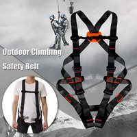 800KG Outdoor Climbing Safety Belt Rappelling Mountaineering Harnesses Outdoor Rescue Rock Climbing Sitting Bust Protective Belt