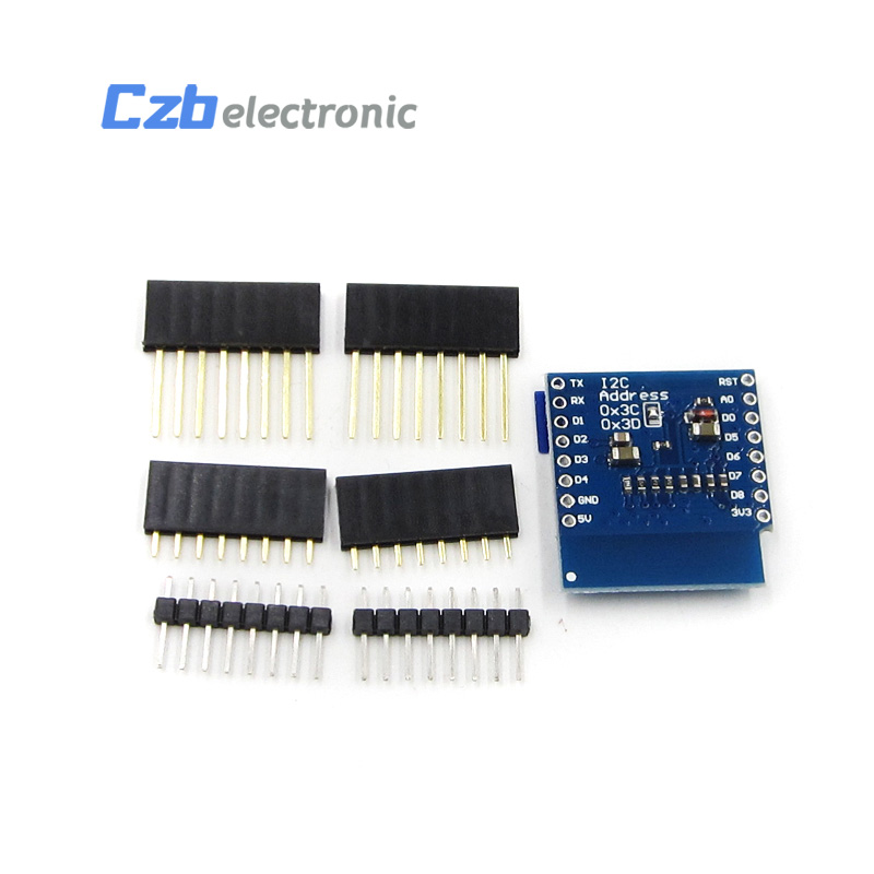 SSD1306 OLED Shield For WeMos D1 Mini IIC I2C IOT 0 66
