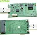 MSATA SSD для USB Адаптер Карт мини SATA к USB3.0 Мобильный Жесткий Диск без корпуса