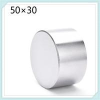 2pcs Super Powerful Dia 50mm X30mm Neodymium Magnet 50x30 Disc Magnet Rare Earth NdFeB N35 Magnets