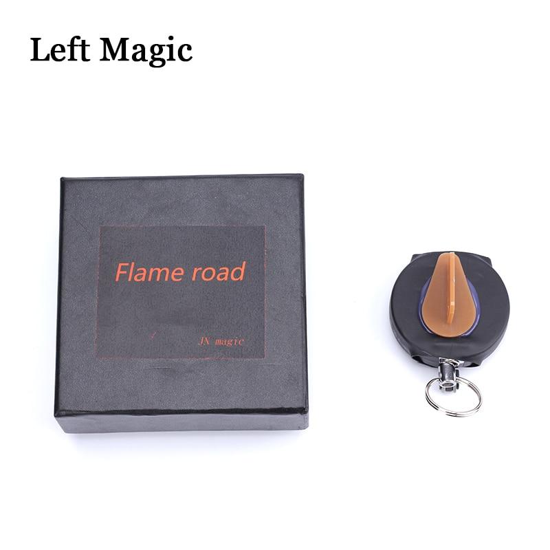 Fire Reel 2.0 By ZF Magic Magic Tricks Flame Road Magic Props Mentalism Close Up Street Magic Gimmick+Online Teaching