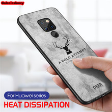 Case For Huawei Mate 20 Pro P20 P30 Lite P Smart 2019 Honor 8X 8C 9 10 Lite Nova 3 3i 4 Shockproof Deer Cloth Phone Case Cover(China)