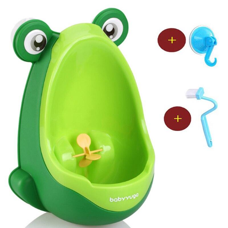 Ребенок туалет горшок Симпатичные лягушка дети мальчик Туалет пописать настенный для маленьких мальчиков незначительное Туалет Обучение ...