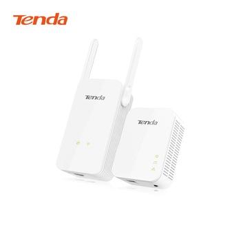 Tenda PA3 PLC 1000Mbps WIFI Powerline Kit Gigabit Wireless WIFI Powerline Adapter With 1000Mbps P3 Plc Adapter Kit digital clock