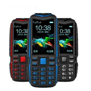 Image 1 - זול מיני כוח בנק טלפון KUH T3 גדול קול חיצוני עמיד הלם נייד טלפון 2.4 אינץ כפולה פנס מהיר חיוג מחוספס הסלולר