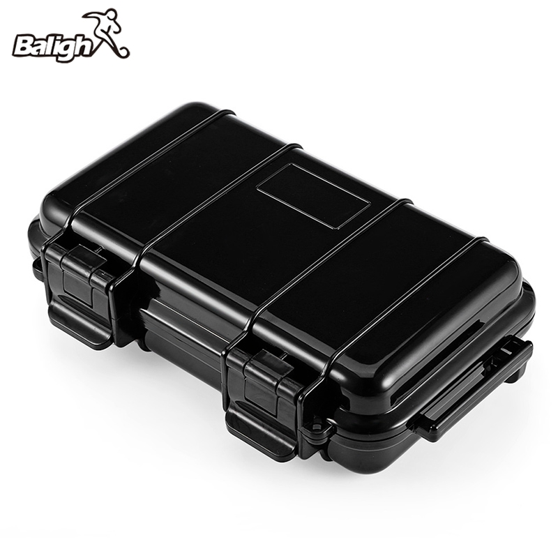 Balight Outdoor Waterproof Shockproof Survival Case Container Storage Carry Box Portable Phone Protect EDC Survival Tool стоимость