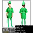 Wan Sheng clothing cos children Bi De hood green girl child Bi De fu service little green men.