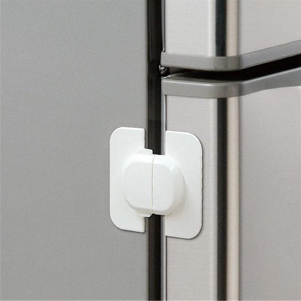 1PCS Refrigerator Fridge Freezer Door Lock Latch Catch Toddler Kids Child Safety