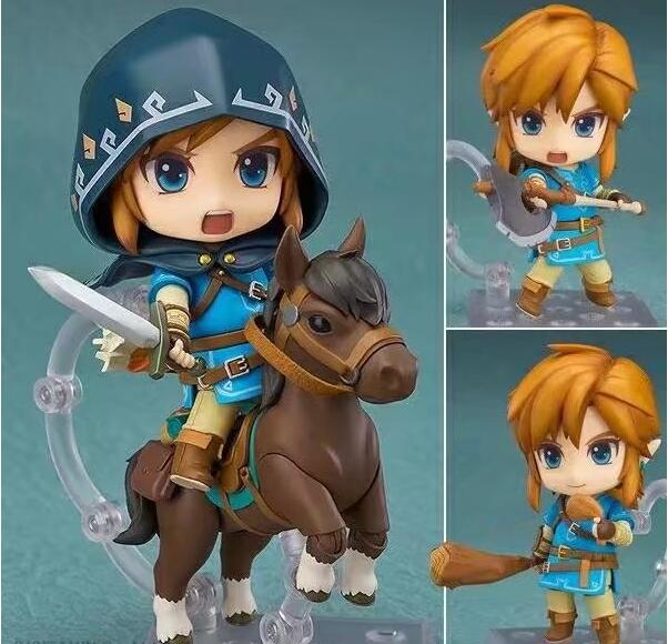 The Legend of Zelda Link 733DX# Nendoroid Game Nendoroid Anime Action Figure PVC toys Collection figures for friends gifts original box sonic the hedgehog vivid nendoroid series pvc action figure collection pvc model children kids toys free shipping